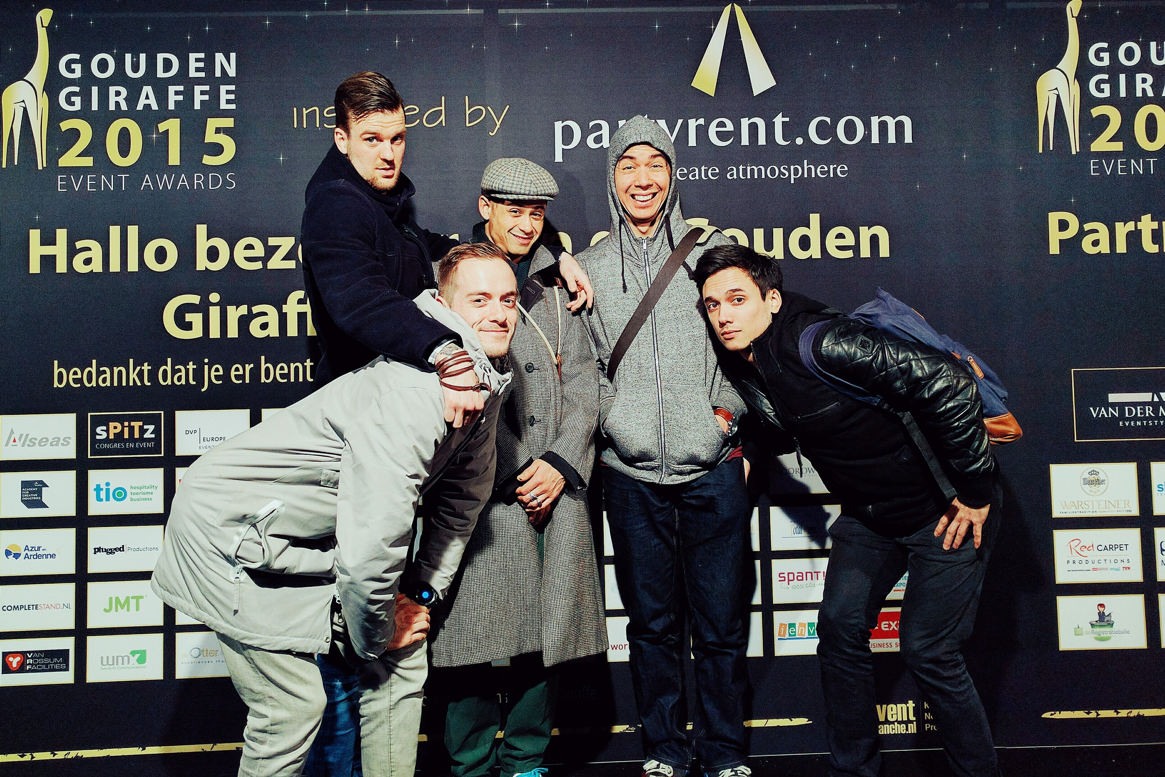 Come correct gouden giraffe event awards 2